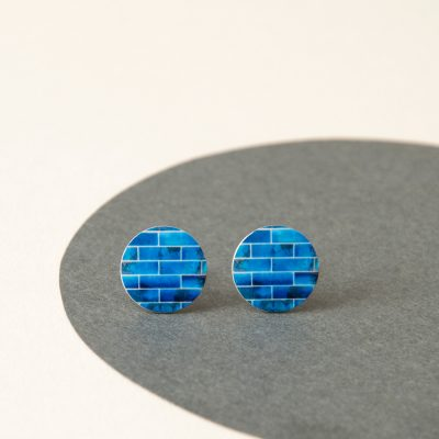blue Studs Earrings
