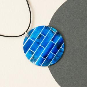 bright blue pendant