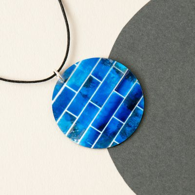 bright blue pendant