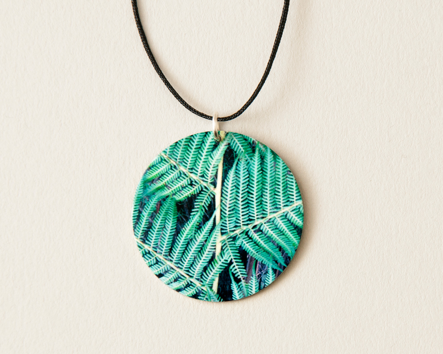 Green Fern Pendant