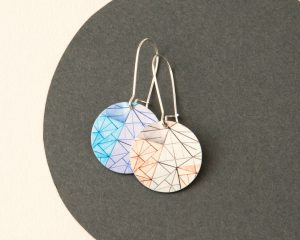 Federation Square Earrings - Melbourne
