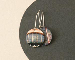 Flinders street station earrings - Melbourne