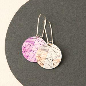 fed-sq-earrings-pink