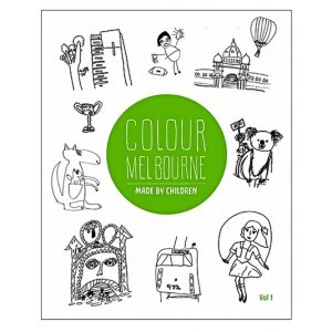 Colour Melbourne - Colouring book