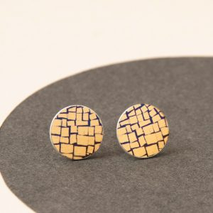gold-abstract-studs