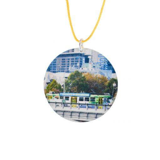 Iconic Melbourne tram pendant