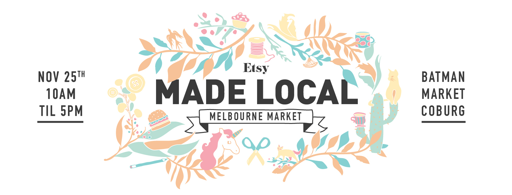Etsy Made Local Melbourne Market